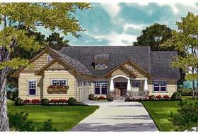 Bungalow Cottage Craftsman House Plan 97001 Elevation