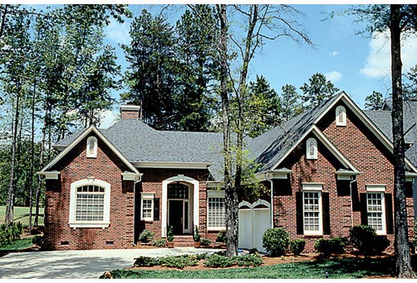 Traditional House Plan 97002 Elevation