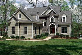 Traditional House Plan 97004 Elevation