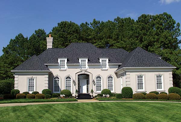 European House Plan 97005 Elevation