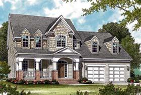 Bungalow Cottage Farmhouse House Plan 97006 Elevation