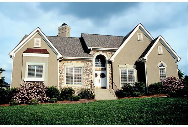 Traditional House Plan 97007 Elevation