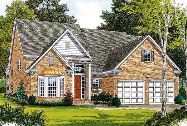 Traditional House Plan 97014 Elevation
