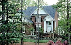 Colonial Traditional House Plan 97015 Elevation