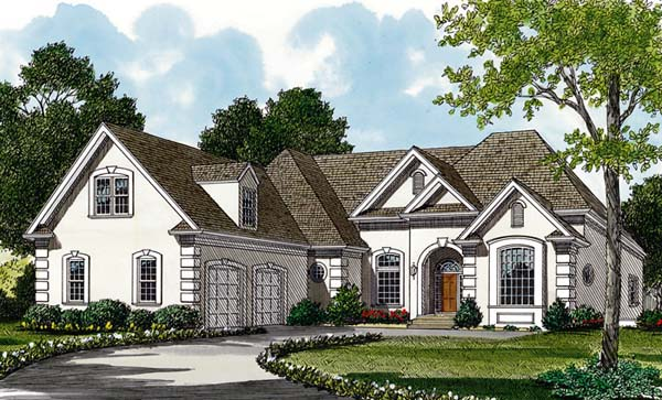 Traditional House Plan 97016 Elevation