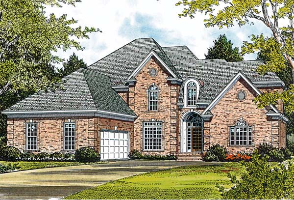 Traditional House Plan 97023 Elevation