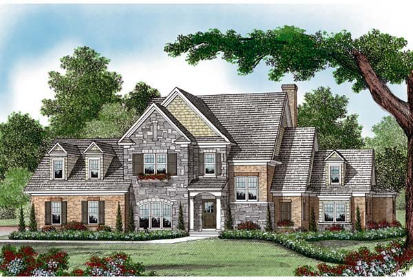 Cottage Craftsman House Plan 97028 Elevation