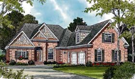 Traditional House Plan 97031 with 3 Beds, 2 Baths, 2 Car Garage Elevation