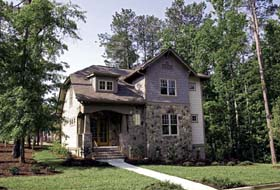 Cottage , Craftsman House Plan 97032 with 4 Beds, 3 Baths, 2 Car Garage Elevation