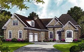 Traditional House Plan 97033 Elevation