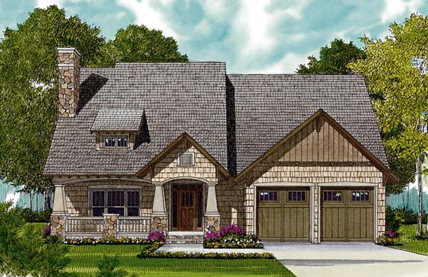 Bungalow Cottage Craftsman House Plan 97036 Elevation