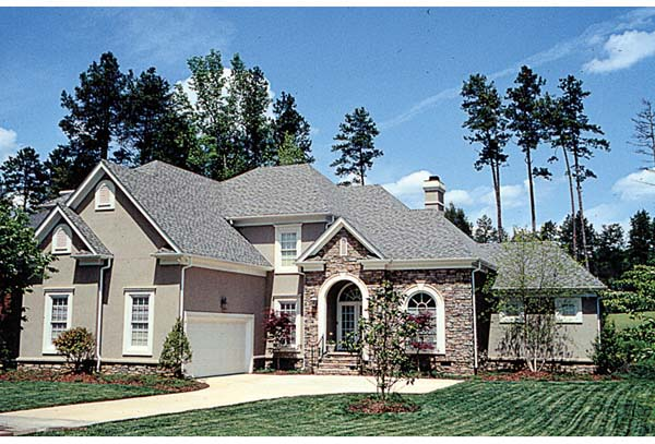 Traditional House Plan 97039 Elevation