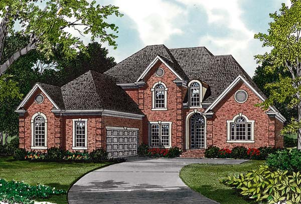 Traditional House Plan 97040 Elevation