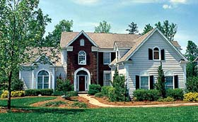 Traditional House Plan 97042 Elevation