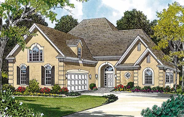 Traditional House Plan 97043 Elevation