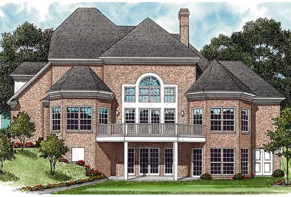 Traditional House Plan 97045 Rear Elevation