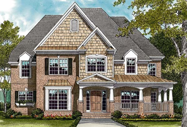 Cottage Traditional House Plan 97049 Elevation