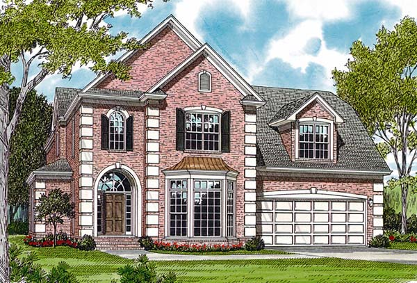 Traditional House Plan 97051 Elevation