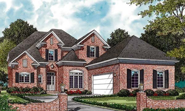 Traditional House Plan 97057 Elevation