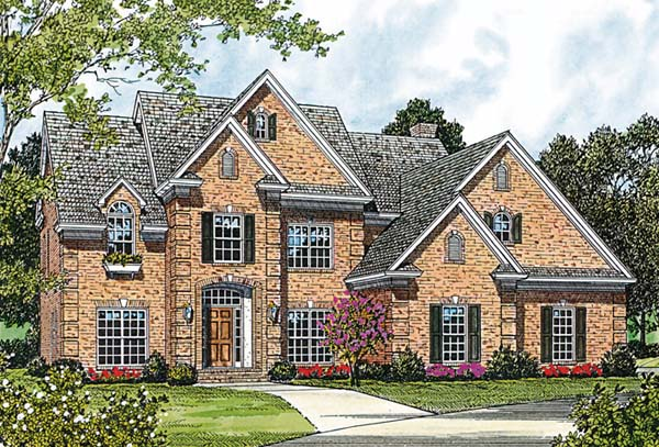 Traditional House Plan 97060 Elevation