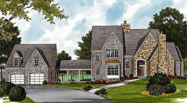 Cottage European House Plan 97062 Elevation