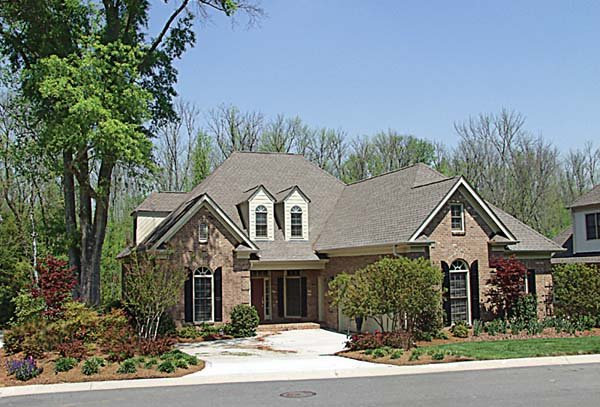Traditional House Plan 97063 with 3 Beds, 4 Baths, 2 Car Garage Front Elevation
