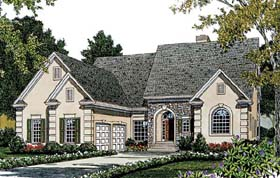 Plan Number 97072 - 2927 Square Feet