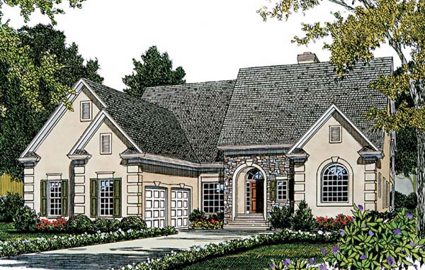 Traditional House Plan 97072 Elevation