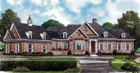 Traditional House Plan 97077 Elevation