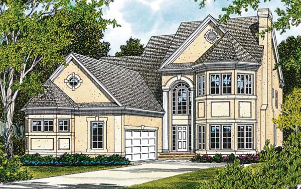 Traditional Elevation of Plan 97080