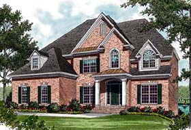 Traditional House Plan 97081 Elevation