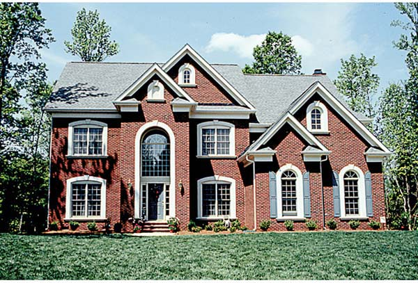Traditional House Plan 97087 Elevation