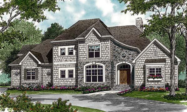 Cottage Craftsman House Plan 97089 Elevation