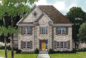 Traditional House Plan 97090 Elevation