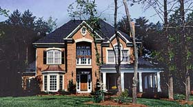 Traditional House Plan 97091 Elevation