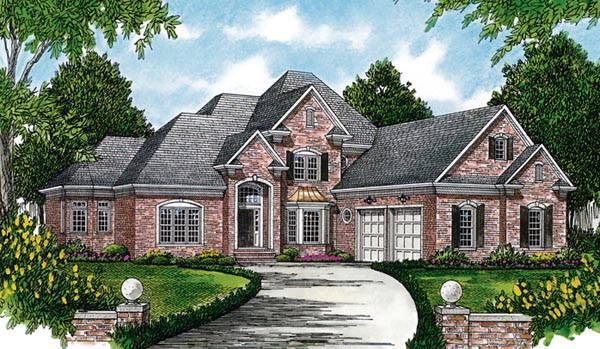 Traditional House Plan 97093 Elevation