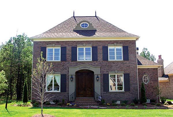 European House Plan 97096 Elevation