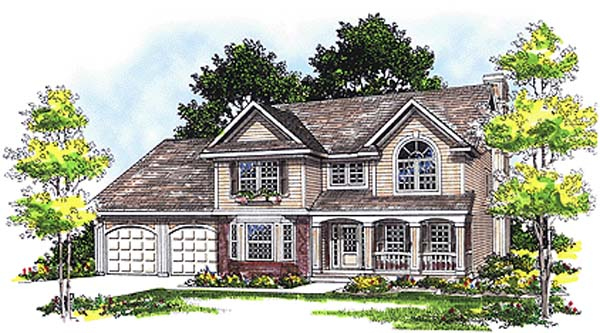 Country House Plan 97100 Elevation
