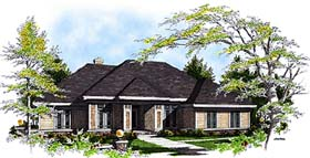 Traditional House Plan 97105 Elevation