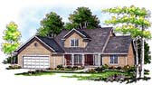 Plan Number 97107 - 1864 Square Feet