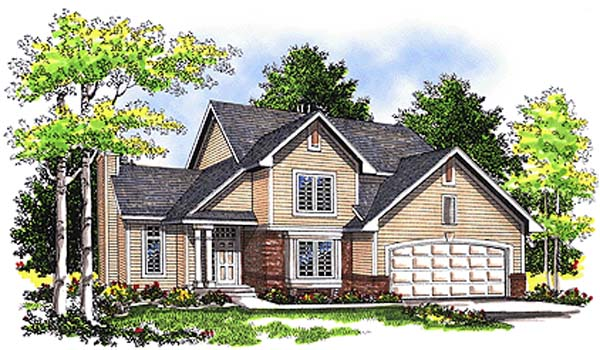 Country House Plan 97112 Elevation