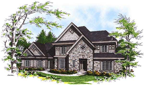 Traditional House Plan 97116 Elevation