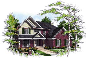 Country House Plan 97117 Elevation