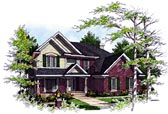Plan Number 97117 - 3219 Square Feet