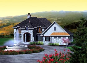 Traditional House Plan 97124 Elevation