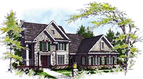 Bungalow Traditional House Plan 97127 Elevation