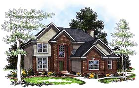 Traditional House Plan 97144 Elevation