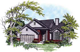 Country House Plan 97147 Elevation