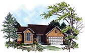 Plan Number 97148 - 1370 Square Feet
