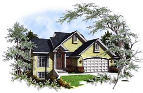 Traditional House Plan 97149 Elevation